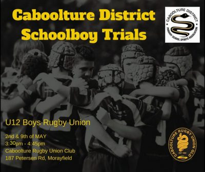 Caboolture District Trials
