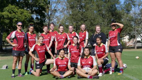 Under 18 Girls Ballymore Aug 2015